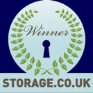 Award for Excellence in Promotional Films 2010. Storage.co.uk