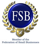 We are member of the Federation of Small Businesses