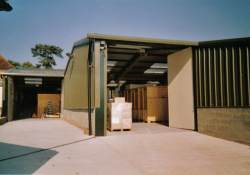 View of one of our self storage Units